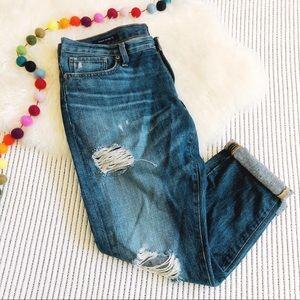 Lucky Brand Sienna Cigarette Slim Boyfriend Jeans